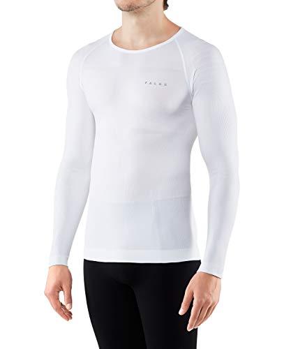 FALKE Herren Warm Tight Fit M L/S SH Baselayer-Shirt, Weiß (White 2860), M