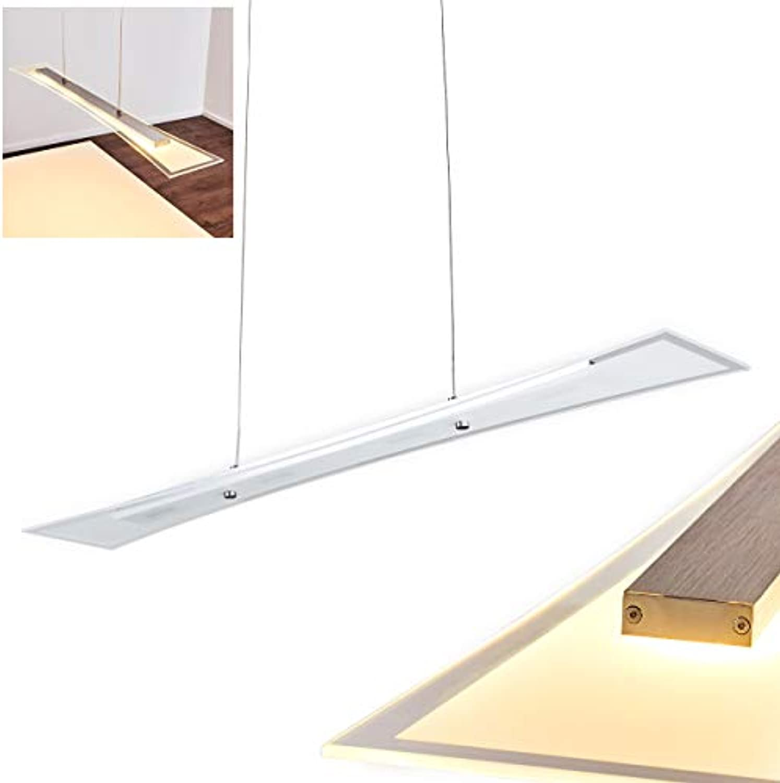 Stillvolle LED Glas Hngeleuchte 4 x 4 Watt - 320 Lumen - 3000 Kelvin