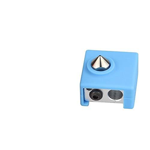 1pc 3D impresora MK9 protector de silicona caso de la cubierta del calcetín for el calentador del bloque de Creality CR-10,10S, S4, S5 Anet A8 MK7 / MK8 / MK9 Hotend ( Color : 1pc , tamaño : Blue )