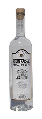Tsikoudia Kretaraki 700ml 40% Vol. Kreta Raki Griechenland Tresterbrand Brandwein Creta