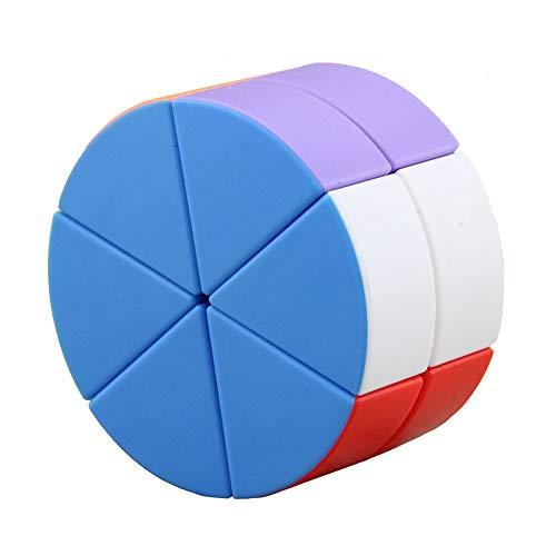 Zauberwürfel 2X2 Mehrfarbig Zylinder Speed Cube Glatte Geschwindigkeits Würfel Zum Stress Abbau 3D Puzzle Professionell Bildung Wettbewerb Kinder Erwachsene Spielzeuge