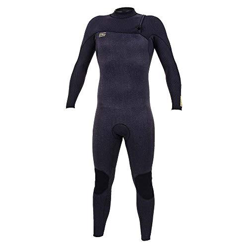O';Neill HyperFreak Comp 5/4mm wetsuit zonder rits zuur wassen zwart - Gemakkelijk stretch lichtgewicht - 360 barrière met afvoeropeningen