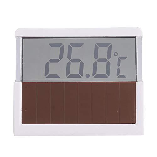 Hffheer Aquarium Solarthermometer, digitale aquairum LCD thermometer, temperatuurmonitor, nieuw opplakbaar glas, vierkant, dunne monitor, aftrekken en opplakken, eenvoudige installatie