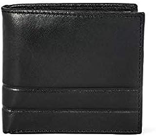 Addon Adele Men's Pass Case Leather Wallet Black