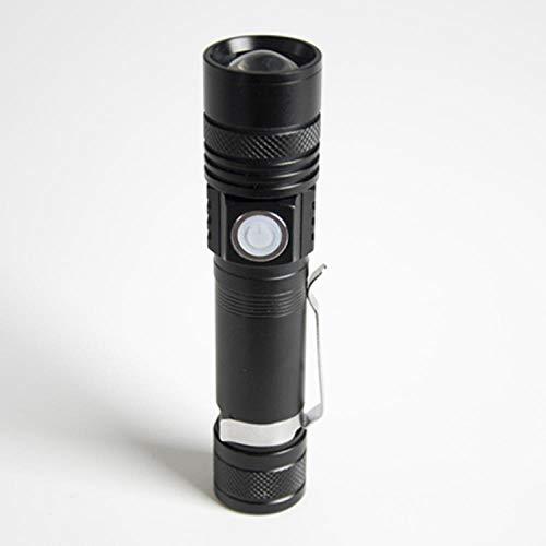 Luz LED a distancia USB recarga linterna exterior luz miniatura telescópica telescópica fotovoltaica