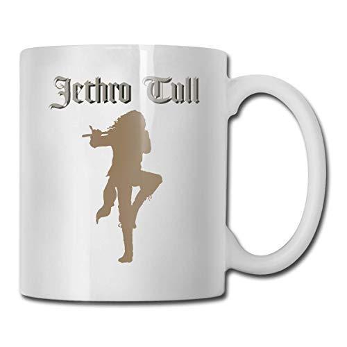 Jethro Tull - Taza de café con personalidad, taza de agua, té, bebida, 11 onzas