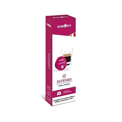 Gimoka - Capsule Compatibili Caffitaly, Gusto Intenso - 80 Capsule
