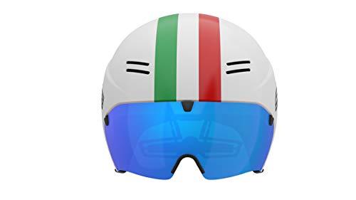 Salice White Italia, Fahrradhelm, Größe 52-58 Unisex Erwachsene
