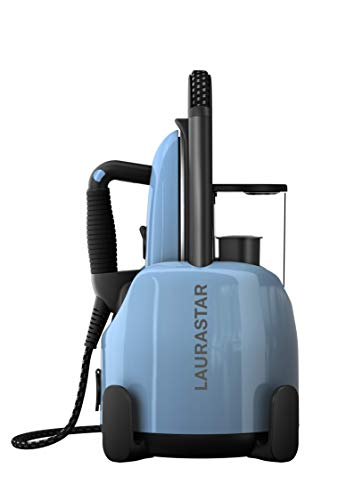 Laurastar Lift Plus Steam Iron in Blue Sky: Swiss Engineered 3-in-1 Steam Generator That Irons, Steams, and Purifies Your Clothes