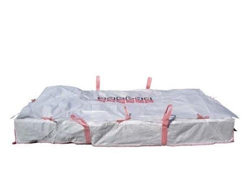 (13,21EUR/Stück) 2 Plattenbag Big Bag Astbestentsorgung Entsorgungssack 260x125x30cm