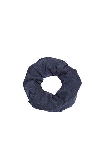 ESPRIT Accessoires Damen 109EA1Q002 Schal, Blau (Navy 400), One Size (Herstellergröße: 1SIZE)
