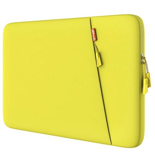 JETech 13,3 Pollici Sleeve Laptop Notebook Tablet iPad Tab, Custodia Borsa Impermeabile Compatibile MacBook Air PRO, 13  MacBook Pro, 12.3 Surface PRO, Surface Laptop, Giallo