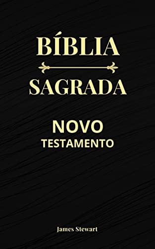 Bíblia Sagrada: Novo Testamento - Capa Preta - Edição Revista e Corrigida