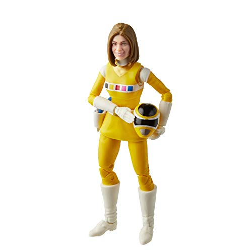Power Rangers Lightning Collection in Space Yellow Ranger 6-Inch Premium Collectible Action Figure Toy with Accessories