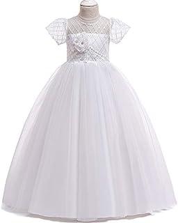 YGCLOTHES Vestidos Manga Corta para Niñas, Vestidos De Flores para El Baile De Graduación Vestidos Niñas, Vestidos Primera...