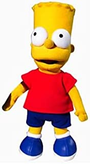 Vivid Imagination 14 inch Plush Bart Simpsons Doll