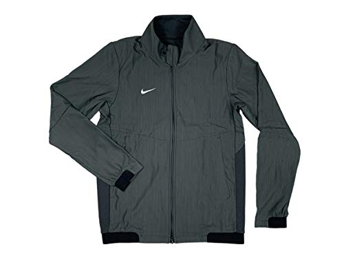 Nike Mens Dri-Fit Light Weight Travel Jacket Grey AH7765-060 (X-Large)