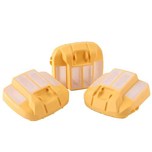 Fdit ABS-Kettensägen-Luftfilter für Husqvarna 545 550XP/XPG für Jonsered CS2252 CS2253 WH 2.8x2.6x1.6in