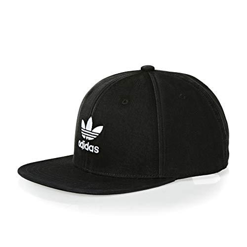adidas Baby-Jungen Ac Cap TRE Flat Kappe, schwarz/weiß, Einheitsgröße