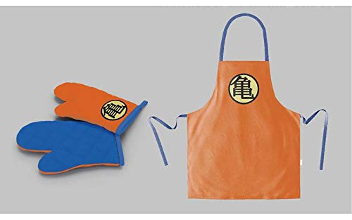 DRAGON BALL - Apron and Oven Mitt - Symbol (PLASTIC BOX) - P.Derive