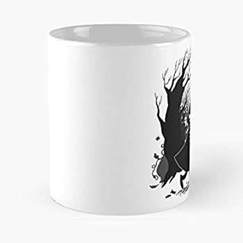 The Greg Wirt Wall Over Garden - The best 11oz White marble ceramic coffee mug I Customize