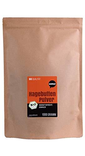 Wohltuer Bio Hagebuttenpulver (1000 g) | Regelmäßige laboranalytische Kontrollen | Besonders...