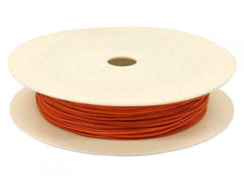 modellbahn-exklusiv 4070 - Miniaturkabel Litze LIFY 25m auf Spule, 0,05 mm² orange