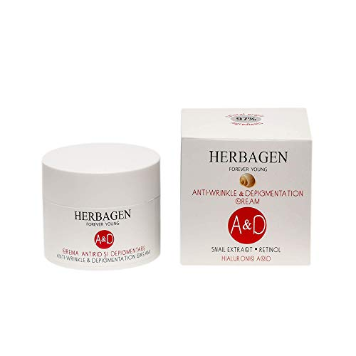 Crema de noche antiarrugas, antiedad, despigmentación