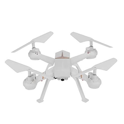 Maquer Accessori per droni Quadricottero telecomandato, Drone F8W 2.4Ghz, Drone Wi- Fi per Il Controllo del Telefono Cellulare, Adatto per Principianti di fotografi(Nero)(Colore:Bianco)