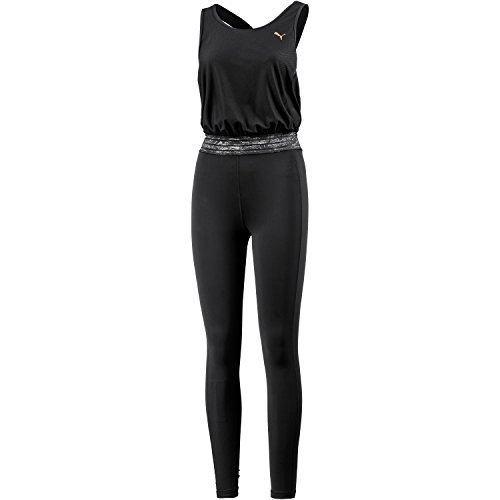 PUMA Damen Explosive Bodysuit Overall, Black, L