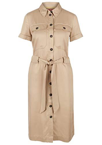 s.Oliver Damen Kleid, 8402 Brown, 36