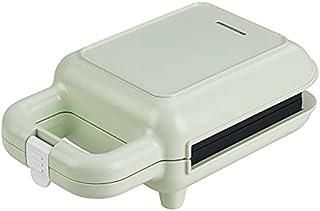 BOXIANGY Machine à Petit-déjeuner Sandwich Home Gaufre Light Toast Grille-Pain Vert