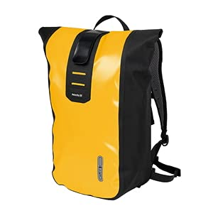 Ortlieb Mochila unisex Velocity., Unisex adulto, CITY - Backpacks, OR-R4025, Sunyellow - Black, talla única