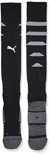 PUMA Herren Team FINAL Socks Stutzen, Black White, 4