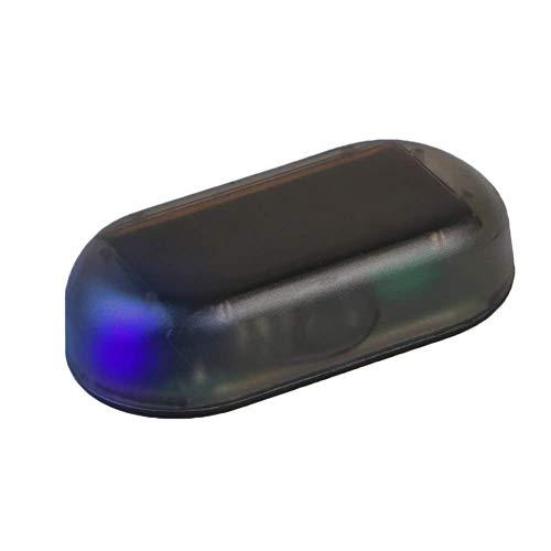Sortim Neu Auto-Alarmanlage Led-Licht, Falsch Solar- Sicherheits Warn Dummy System Blink Licht, Warn Diebstahl Flasche Blinkend - Blauem Licht, 1