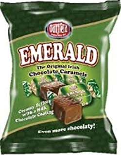 Oatfield Emerald Irish Chocolate Caramels 150g x 2 bags (300g) Imported from Ireland