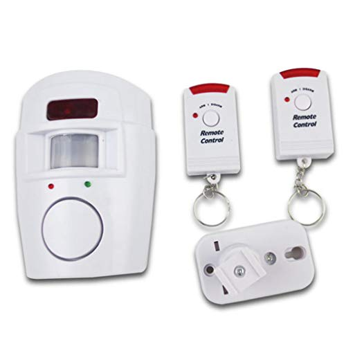 Remote Control Wireless Infrared Motion Detector Sensor Alarm Home Anit-Theft Alarm System