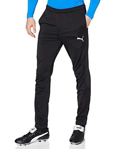 PUMA Herren Erwachsene Liga Sideline Poly Pant Core Hose, schwarz (PUMA Black-PUMA White), M