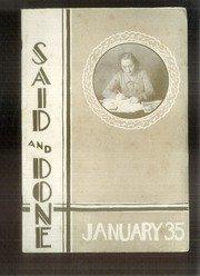 (Custom Reprint) Yearbook: 1935 Muskegon High School - Said and Done Yearbook (Muskegon, MI)