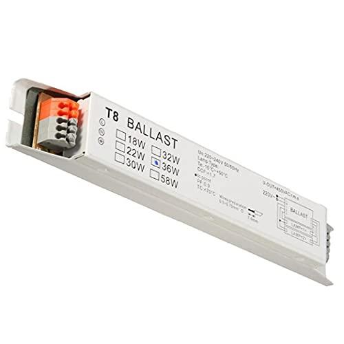 Electronic Ballast T8 2x36W Wide Voltage Fluorescent Light Instant Start Energy Saving Lamp Ballast