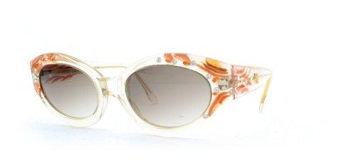 Emmanuelle Khanh Damen Sonnenbrille Weiß