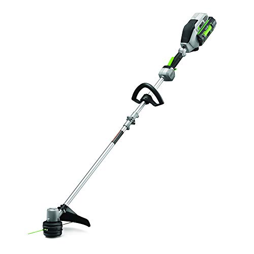 EGO Power+ ST1502SA 15-Inch 56-Volt Cordless String Timmer with Rapid Reload and Split Shaft 2.5Ah Battery and Charger Included, Black