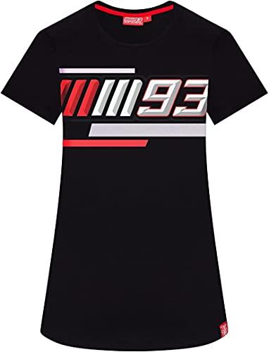 Marc Marquez Camiseta MM93 para Mujer en Color Negro