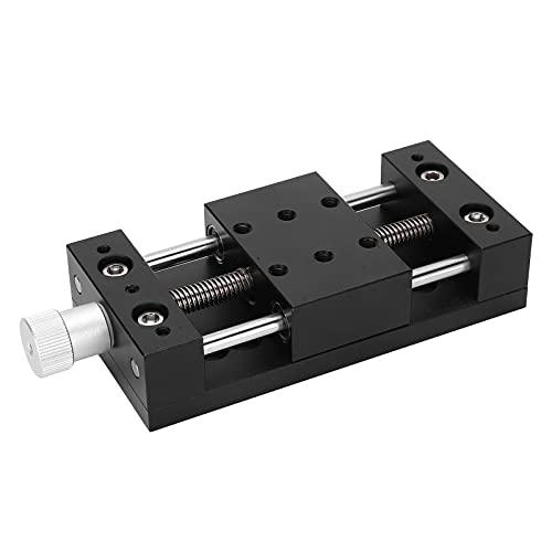 Plataforma deslizante horizontal, plataforma de ajuste fino manual de ejes X Dispositivos industriales para equipos ópticos