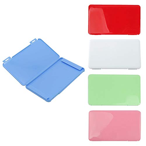 Rpanle 5 Pack Portable Storage Box Bag Flat Plastic Box Storage Clips Organizer to Prevent Jewerlry En contamination