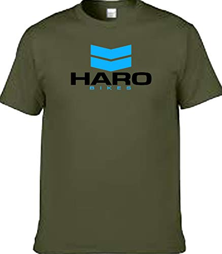 veedub clothing BMX HARO T-Shirt, Blau Gr. L, Military Green