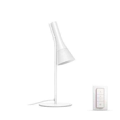 Preisvergleich Produktbild Philips Hue Explore LED Tischleuchte,  inkl. Dimmschalter,  dimmbar,  alle Weißschattierungen,  steuerbar via App,  kompatibel mit Amazon Alexa (Echo,  Echo Dot),  weiß