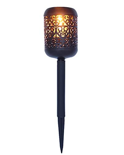 ZHMIAO Luces solares LED para césped, al aire libre, resistente al agua, luz antorcha