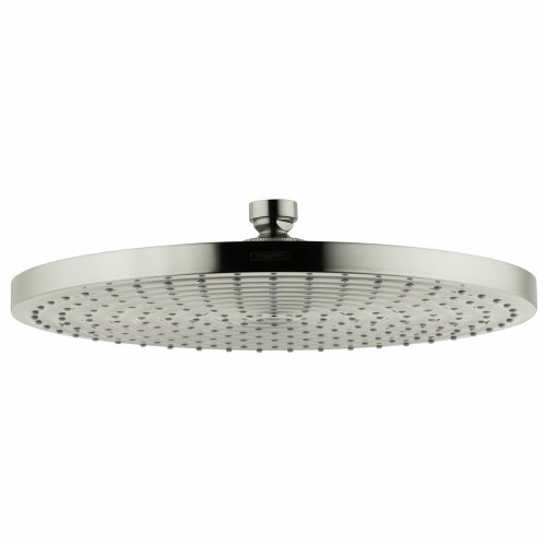 Hot Sale Hansgrohe 27493821 Raindance 300 AIR Shower Head, Brushed Nickel