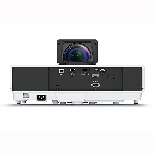 EPSONdreamioホームプロジェクターEH-LS500W(2500000:14000lm)超短焦点レーザー光源4K/HDR対応AndroidTV™端末同梱